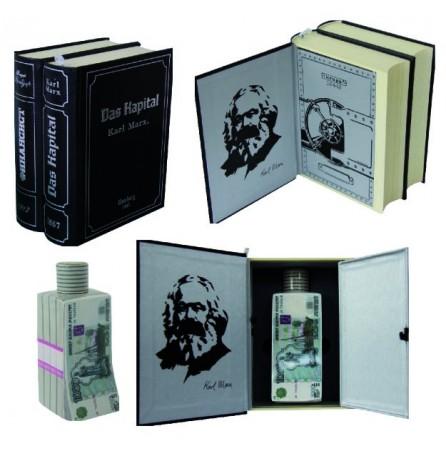 "Книга-сейф двухтомник К. Маркс ""Капитал"""
