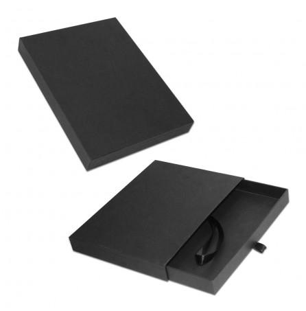 Подарочная коробка под ежедневник (чёрная)