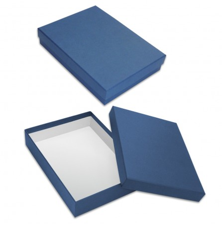 Коробка под ежедневник (синяя)