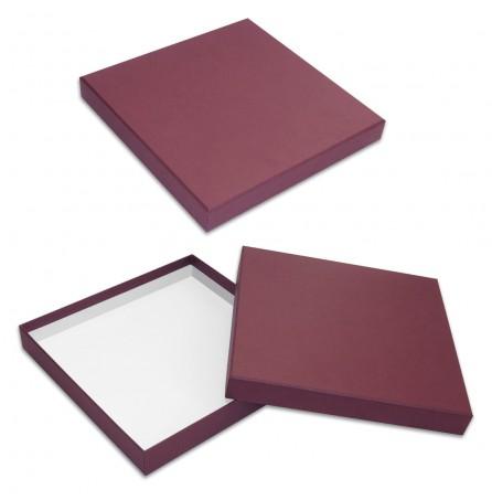 Коробка универсальная (бордовая)