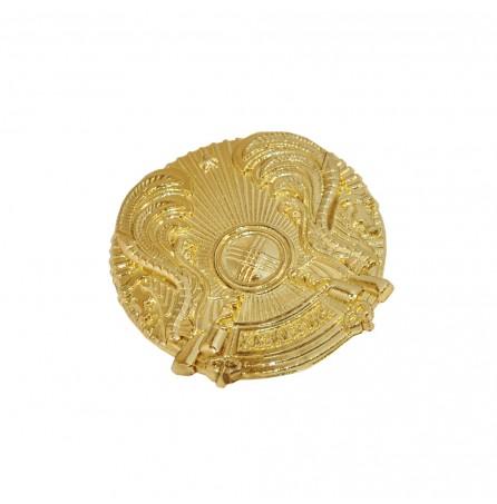 Герб Казахстана (золото)
