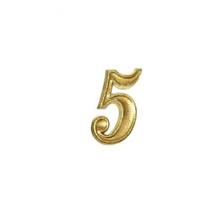 """Цифра  """"5"""" (малая)"""