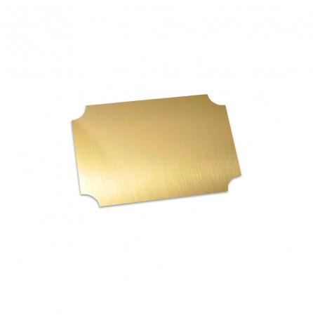 Маленький декоративный шильд (золото)