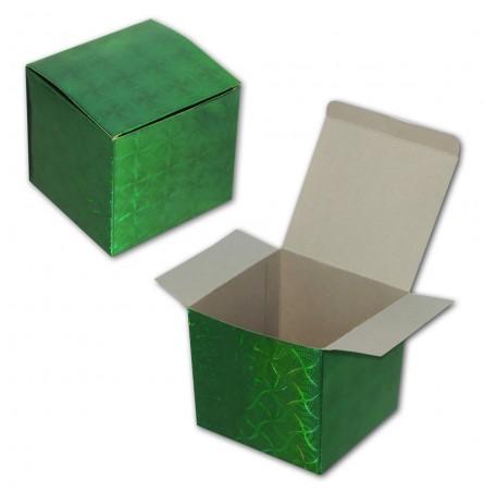 Коробочка под кружку (зелёная)