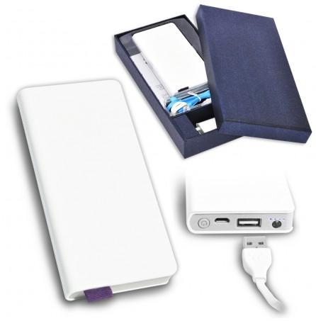 """Внешний аккумулятор """"Записная книжка"""" 6000 mAh в стильной упаковке"""
