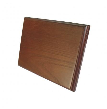 Плакетка шпон - дуб. (размером201х151х16 мм)