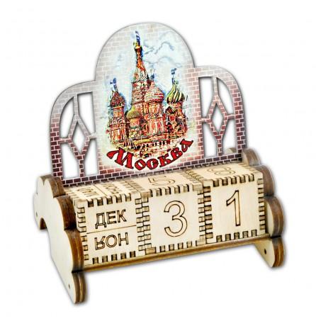 Вечный календарь «Москва. Собор Василия Блаженного»