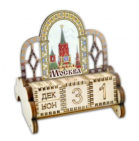 Вечный календарь «Москва. Спасская башня»