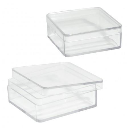 Коробка прозрачная (большая)