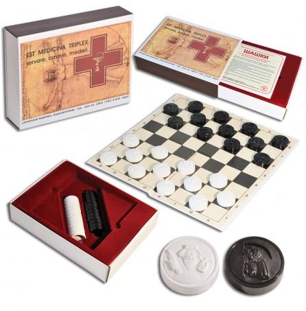 """Подарочный набор """"Медицинские шашки"""""""