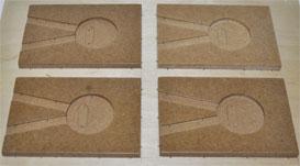 Пресс-форма для вакуумной формовки