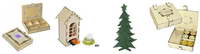 Шкатулки и футляры, подарочные наборы, сувениры и многое другое